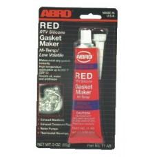 ABRO Gasket Maker - Υψηλής Θερμοκρασίας Κόκκινη Φλαντζόκολλα 85gr