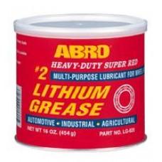 ABRO Super Red Lithium Grease - Κόκκινο Γράσσο Λιθίου 454gr